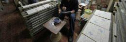 team building a Napoli presso una fabbrica di ceramiche
